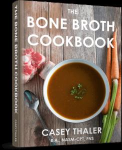 Bone broth cook book